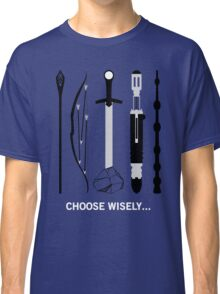 Choose Wisely! (White Text) Classic T-Shirt