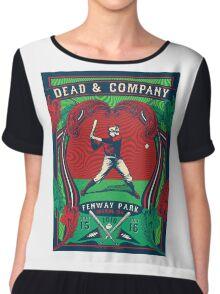 DEAD AND COMPANY SUMMER TOUR 2016 FENWAY PARK-BOSTON,MA Chiffon Top