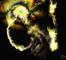 Liminal Light Creature [Digital Fantasy Figure Illustration]  by Grant Wilson