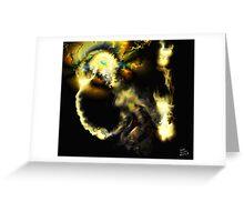 Liminal Light Creature [Digital Fantasy Figure Illustration]  Greeting Card