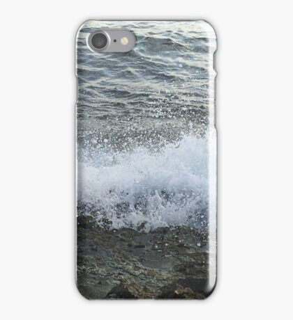 Waves Against the Shore iPhone Case/Skin