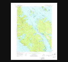 USGS TOPO Map Alaska AK Dixon Entrance D-3 355467 1951 63360 Unisex T-Shirt