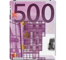 Five Hundred Euro Bill iPad Case/Skin