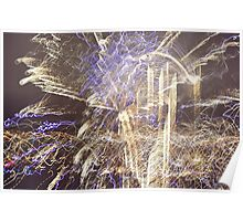 Funky Fireworks 3 Poster