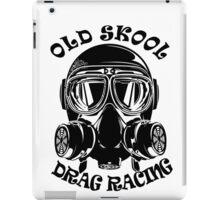 Old Skool Drag Racing Design iPad Case/Skin