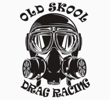 Old Skool Drag Racing Design T-Shirt