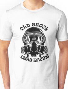 Old Skool Drag Racing Design Unisex T-Shirt