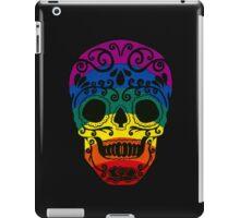 Rainbow Sugar Skull iPad Case/Skin