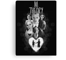 M Theory Canvas Print