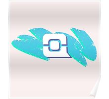 tPC Swoosh Logo Icon - Dark Poster