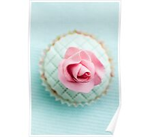Decorated cupcake Poster
