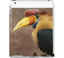 The beak makes the bird iPad Case/Skin