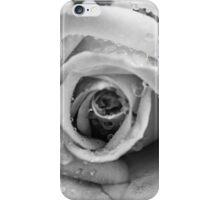 mono rose aftr the rain iPhone Case/Skin