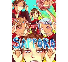 Team Sapporo! Photographic Print
