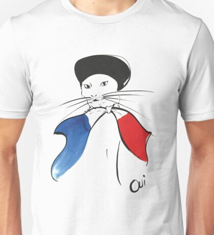 Oui Kitty Unisex T-Shirt