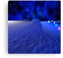 Mission to the Frozen Moon Canvas Print
