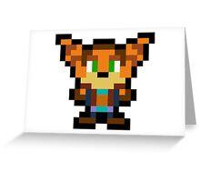 Pixel Ratchet Greeting Card