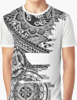 Zentangle City Sydney [Black and White] Graphic T-Shirt