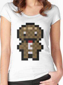 Pixel Sackboy Women's Fitted Scoop T-Shirt