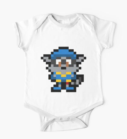 Pixel Sly Cooper One Piece - Short Sleeve