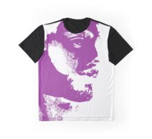 Rorschach Purple Graphic T-Shirt