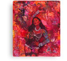 Pearl Burlesque Canvas Print
