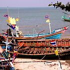 Long tail boats, Thailand by indiafrank