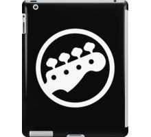 Bass Headstock iPad Case/Skin