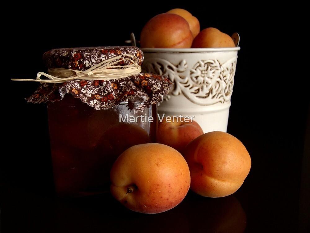 Apricot Jam Still Life by Martie Venter
