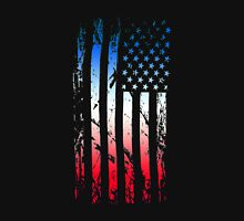 Abstract American Flag Unisex T-Shirt