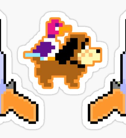 Duck Seazon - Pixels Sticker
