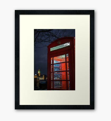 Machination - London Lights Framed Print