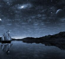 Beneath a jewelled sky by John Edwards