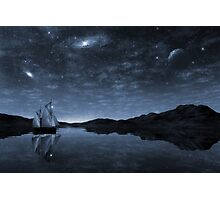 Beneath a jewelled sky Photographic Print