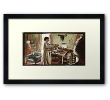 Morning Tea Framed Print