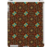Pattern with rustic flowers iPad Case/Skin