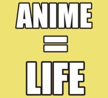 Anime = LIFE Kids Tee