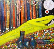 """""""Goldfish Dreaming""""   by catherine walker"""