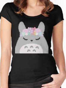 Totoro Cutie Women's Fitted Scoop T-Shirt