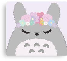 Totoro Cutie Canvas Print