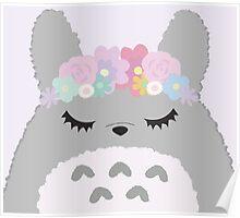Totoro Cutie Poster