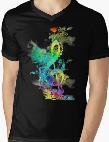a key to happiness Mens V-Neck T-Shirt