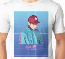 suho in blue Unisex T-Shirt