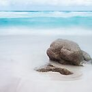 Rock and Waves, Friendly Beaches by Jim Lovell