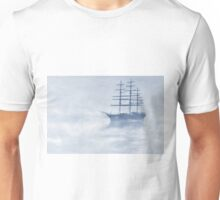Morning Mists Cyanotype Unisex T-Shirt