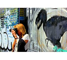 This Young Moment - tag line Photographic Print