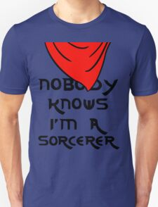 Nobody knows I'm a sorcerer - 1 Unisex T-Shirt