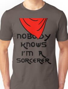 Nobody knows I'm a sorcerer - 1 Unisex T-Shirt