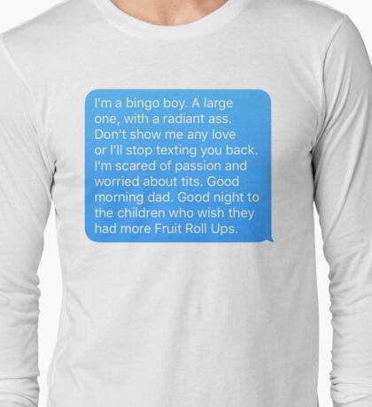 Bingo Boy Drew Monson Top Long Sleeve T-Shirt