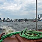 Cruising around Hamburg Harbor, Germany by Bine